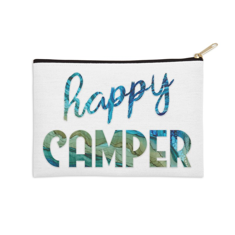 Happy Camper Accessories Zip Pouch by