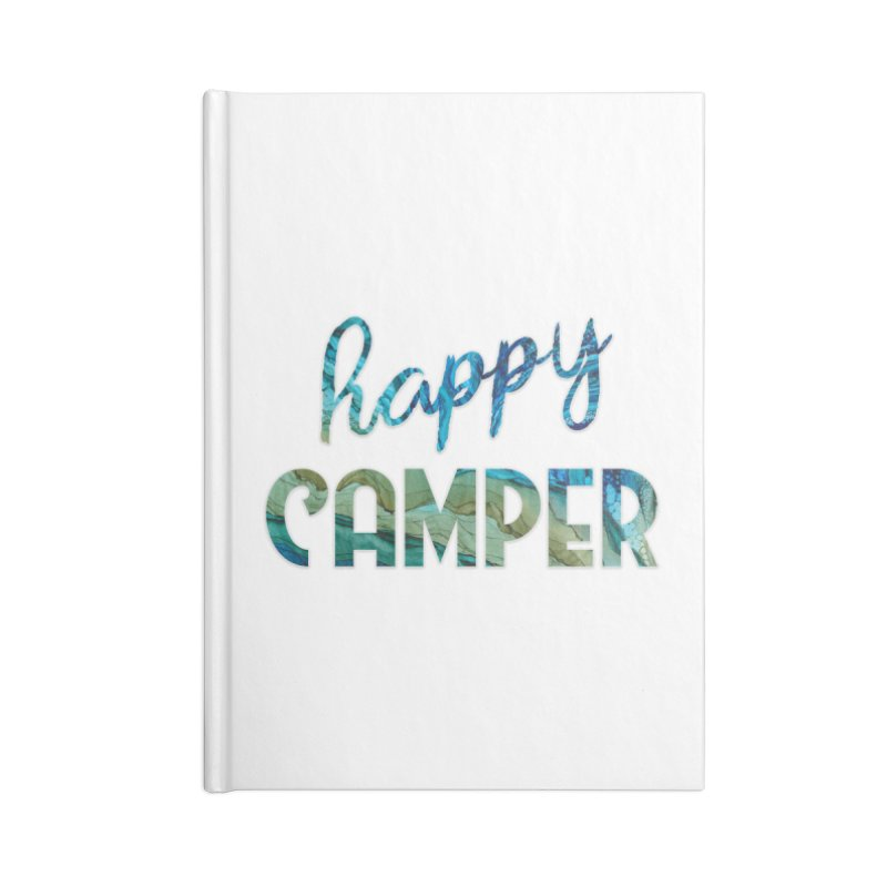 Happy Camper Accessories Blank Journal Notebook by