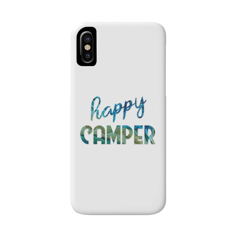 Happy Camper Accessories Phone Case by