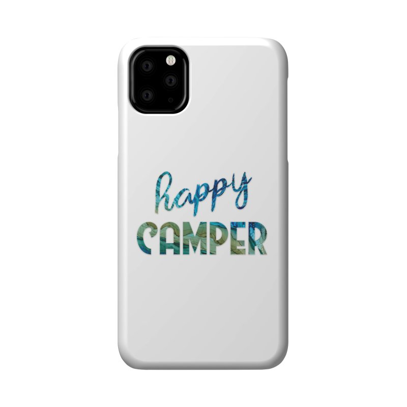 Happy Camper Accessories Phone Case by Pamela Habing's Art