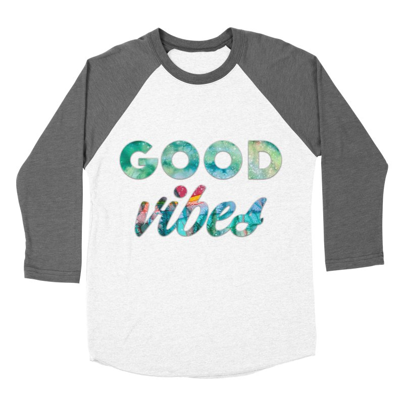 Good Vibes Women's Baseball Triblend Longsleeve T-Shirt by