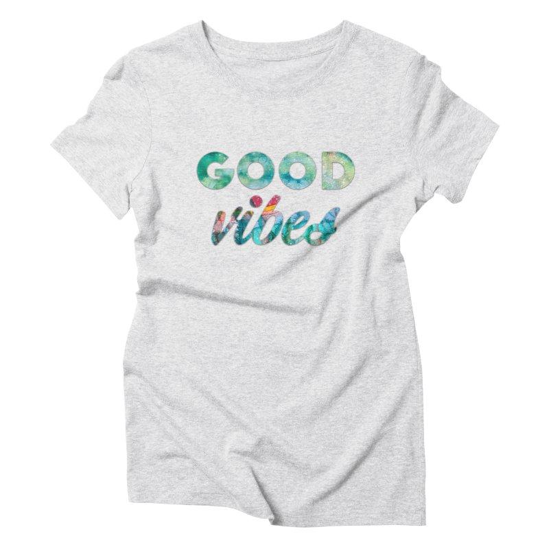 Good Vibes Women's Triblend T-Shirt by