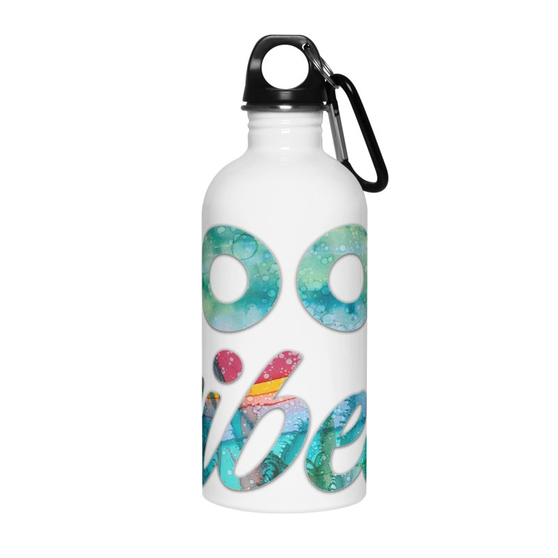 Good Vibes Accessories Water Bottle by