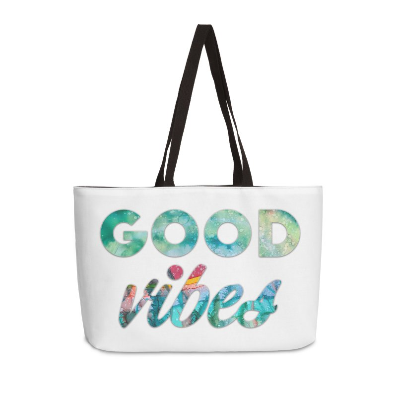 Good Vibes Accessories Weekender Bag Bag by