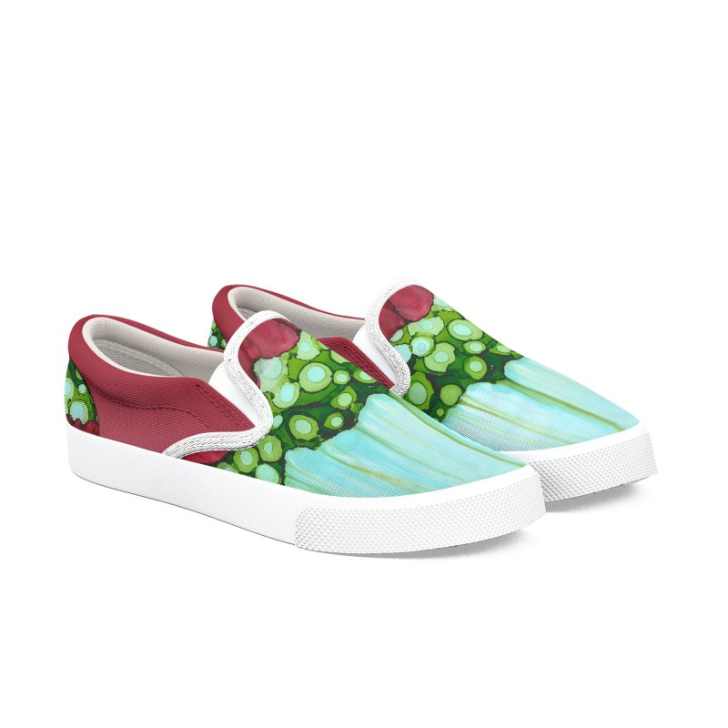 Watermelon Women's Slip-On Shoes by