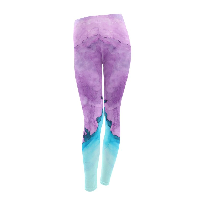 Rough Around the Edges Leggings Women's Leggings Bottoms by Pamela Habing's Art