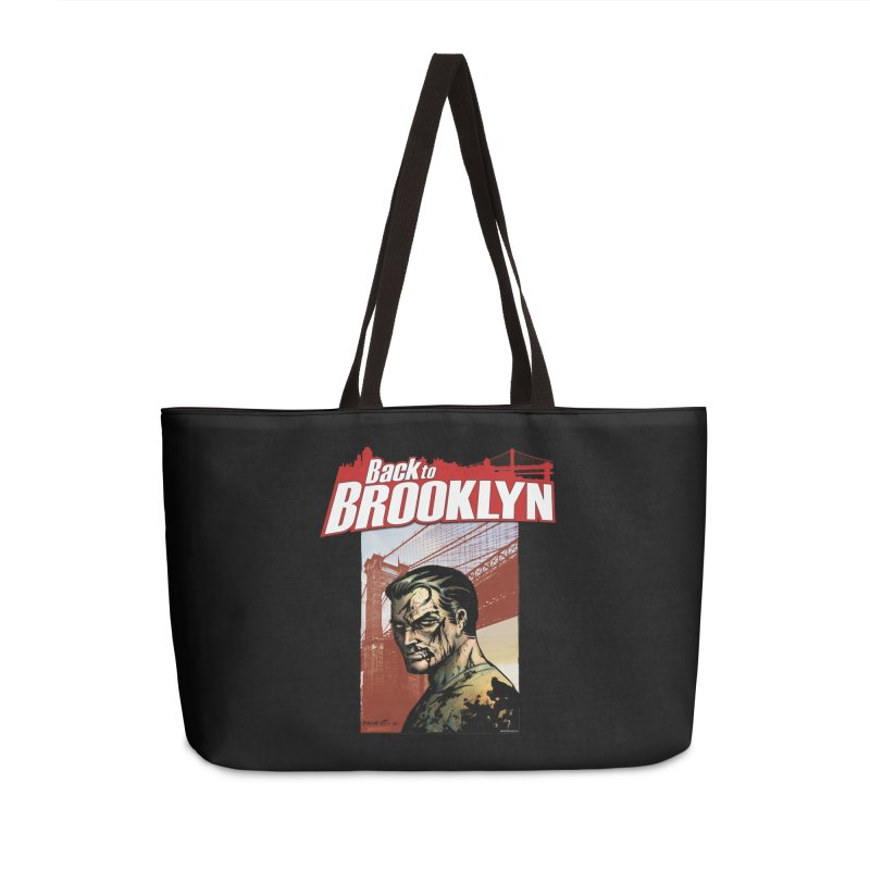 Back to Brooklyn - Jimmy Palmiotti Accessories Weekender Bag Bag by Paper Films