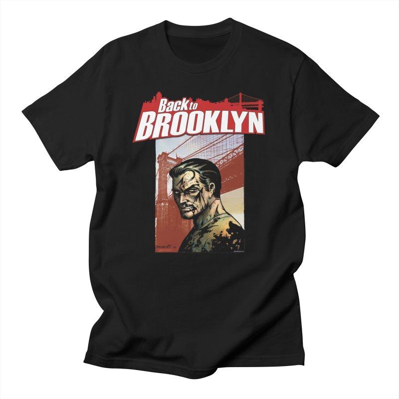 Back to Brooklyn - Jimmy Palmiotti Men's T-Shirt by Paper Films