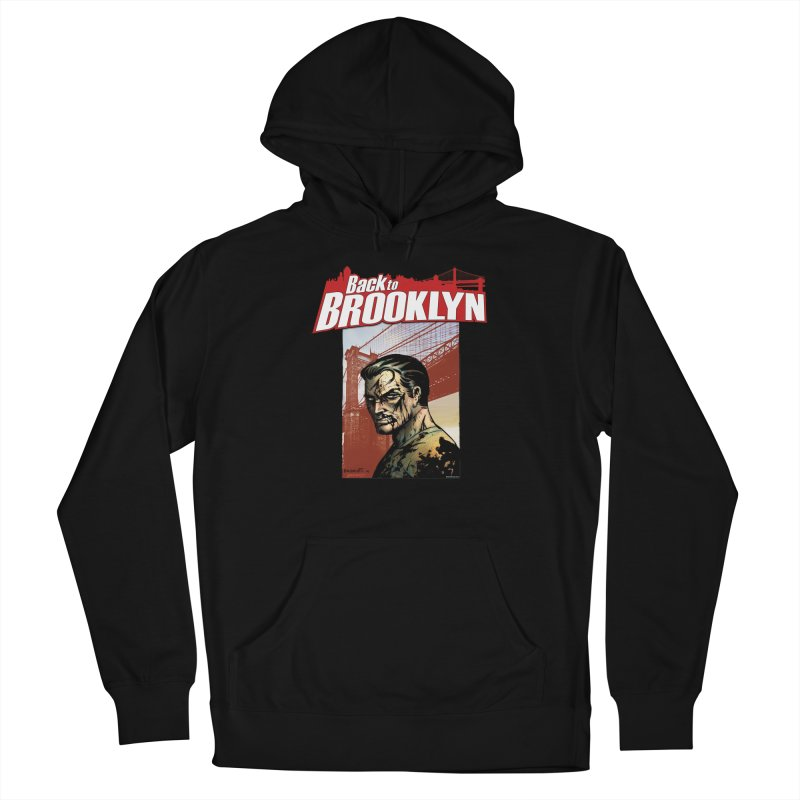 Back to Brooklyn - Jimmy Palmiotti Men's Pullover Hoody by Paper Films