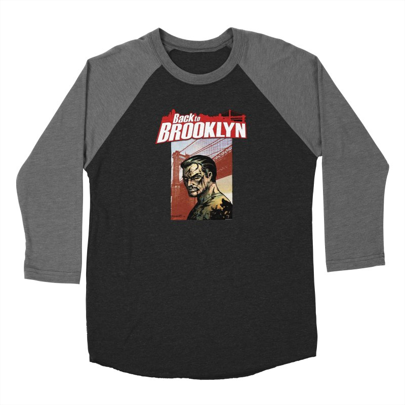 Back to Brooklyn - Jimmy Palmiotti Women's Longsleeve T-Shirt by Paper Films