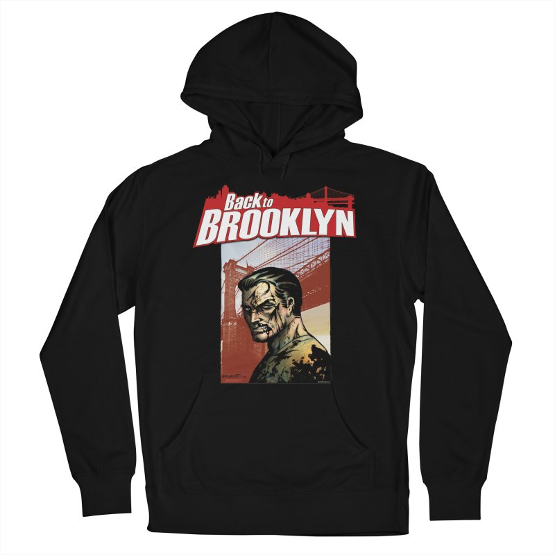 Back to Brooklyn - Jimmy Palmiotti Men's French Terry Pullover Hoody by Paper Films