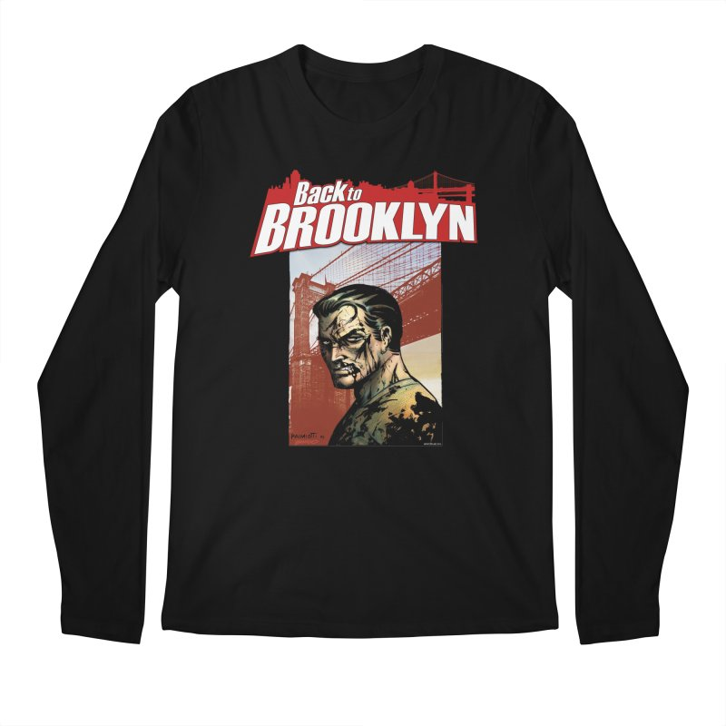 Back to Brooklyn - Jimmy Palmiotti Men's Longsleeve T-Shirt by Paper Films