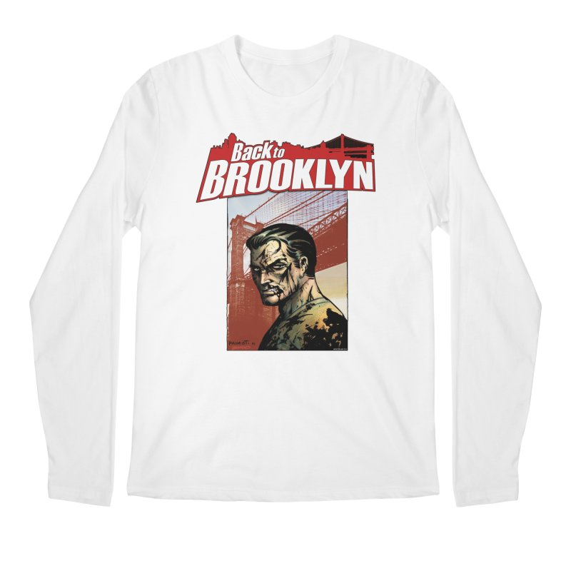 Back to Brooklyn - Jimmy Palmiotti Men's Regular Longsleeve T-Shirt by PaperFilms's Artist Shop