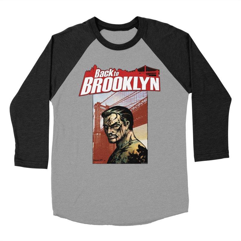 Back to Brooklyn - Jimmy Palmiotti Women's Baseball Triblend Longsleeve T-Shirt by Paper Films