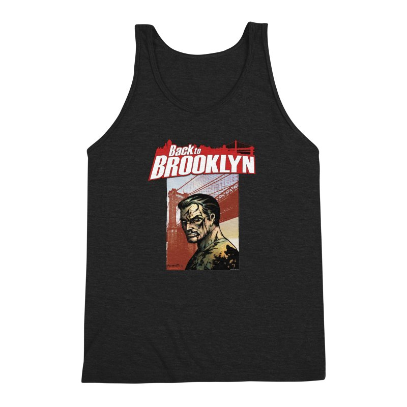 Back to Brooklyn - Jimmy Palmiotti Men's Triblend Tank by PaperFilms's Artist Shop