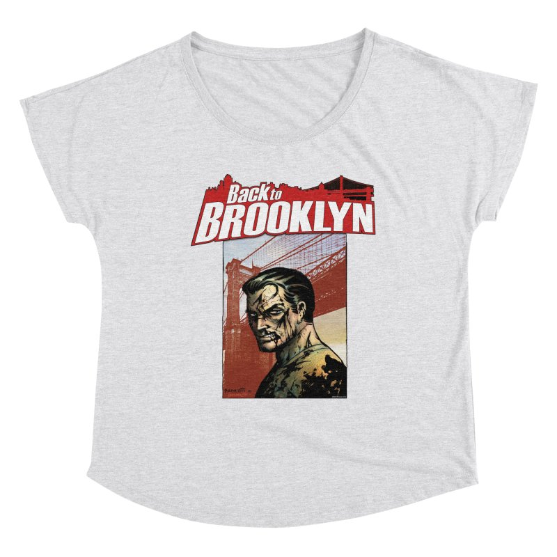 Back to Brooklyn - Jimmy Palmiotti Women's Scoop Neck by Paper Films