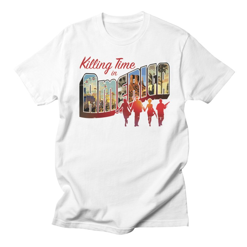 Killing Time in America - Dave Johnson Men's T-Shirt by PaperFilms's Artist Shop