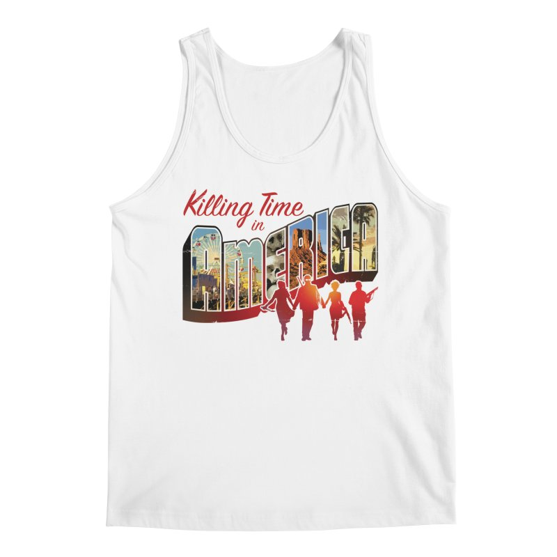Killing Time in America - Dave Johnson Men's Tank by Paper Films