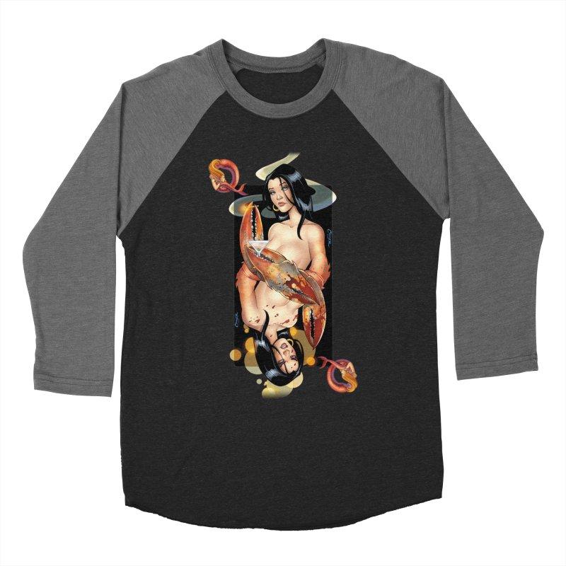 Queen Crab - Amanda Conner Women's Baseball Triblend Longsleeve T-Shirt by Paper Films
