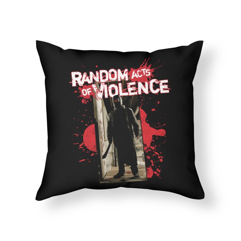 Random Acts of Violence - Tim Bradstreet Home Throw Pillow by PaperFilms's Artist Shop