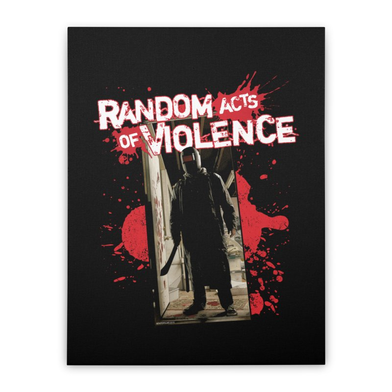 Random Acts of Violence - Tim Bradstreet Home Stretched Canvas by Paper Films