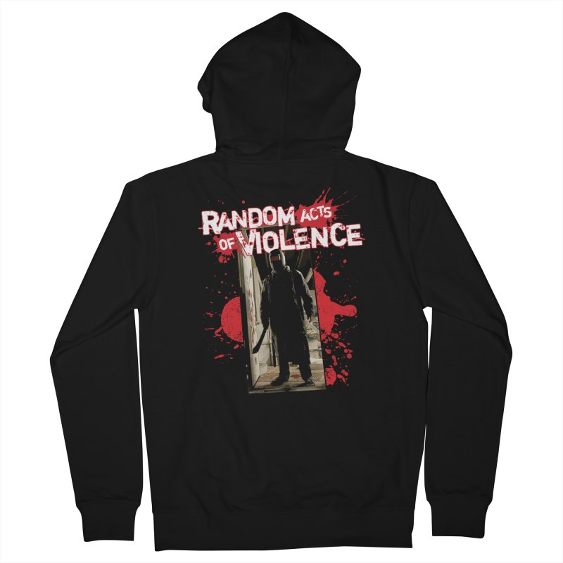 Random Acts of Violence - Tim Bradstreet Women's French Terry Zip-Up Hoody by PaperFilms's Artist Shop