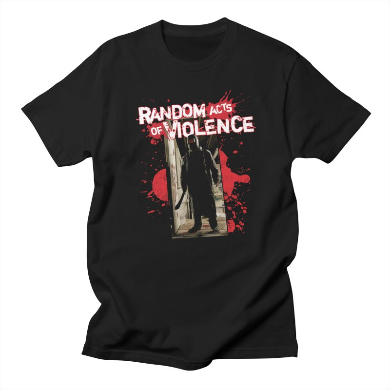 Random Acts of Violence - Tim Bradstreet in Men's Regular T-Shirt Black by PaperFilms's Artist Shop