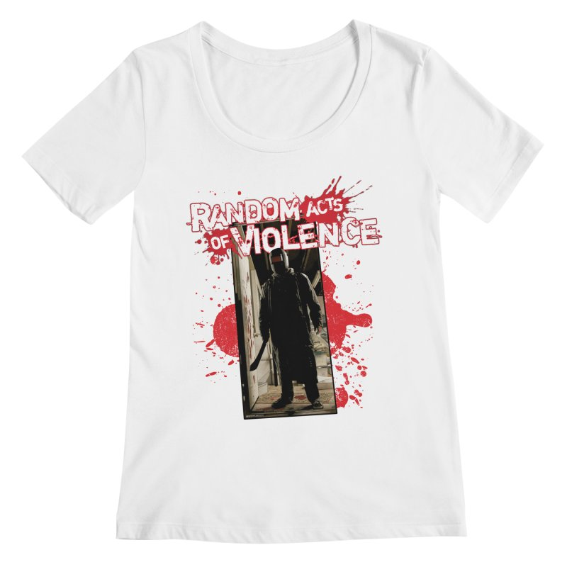 Random Acts of Violence - Tim Bradstreet Women's Regular Scoop Neck by PaperFilms's Artist Shop