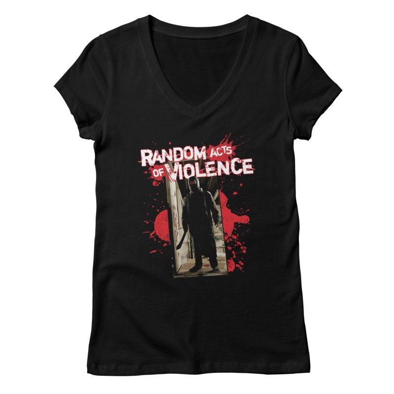 Random Acts of Violence - Tim Bradstreet Women's Regular V-Neck by Paper Films