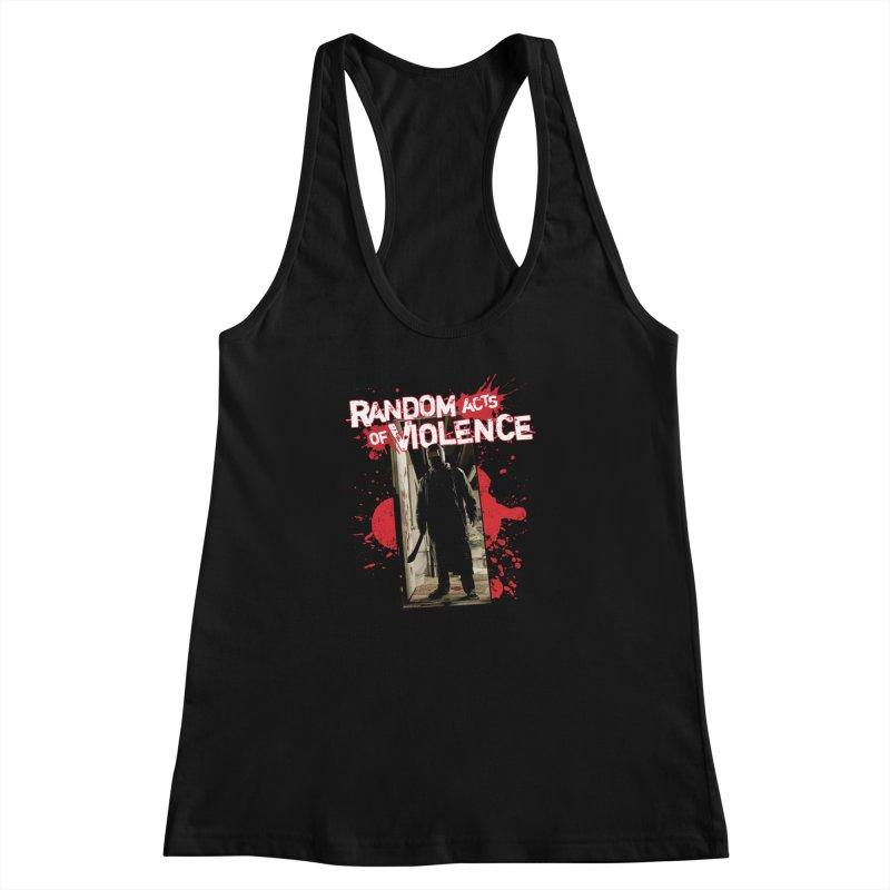 Random Acts of Violence - Tim Bradstreet Women's Racerback Tank by Paper Films