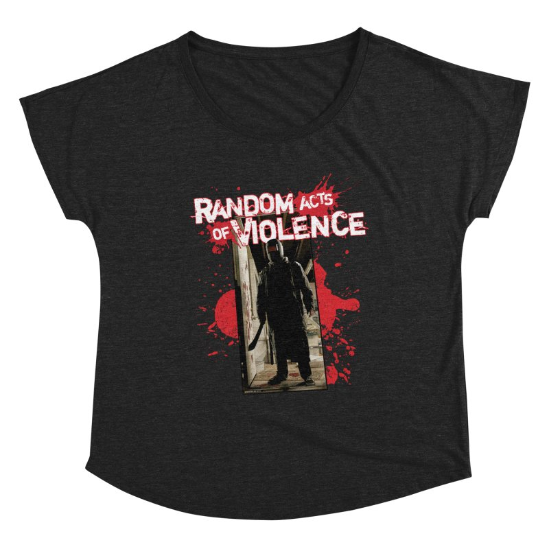 Random Acts of Violence - Tim Bradstreet Women's Scoop Neck by Paper Films