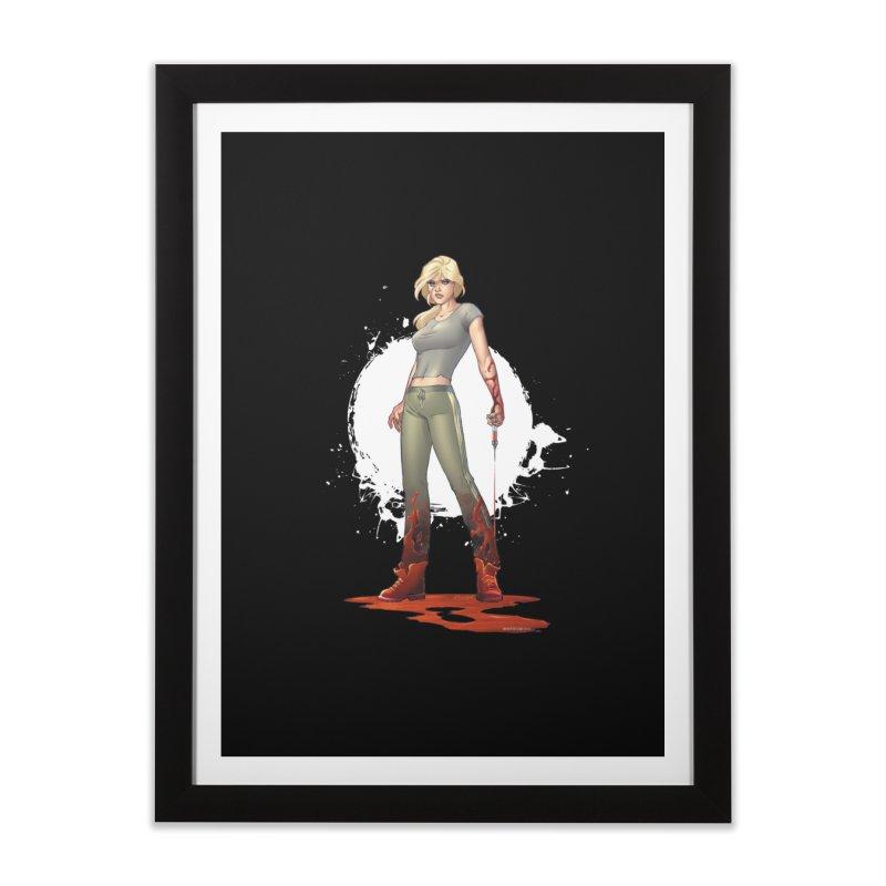 Retrovirus - Amanda Conner Home Framed Fine Art Print by Paper Films