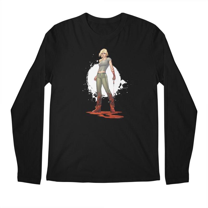 Retrovirus - Amanda Conner Men's Longsleeve T-Shirt by PaperFilms's Artist Shop