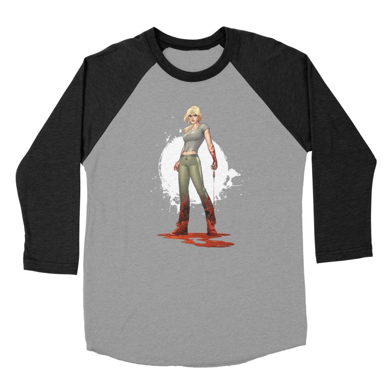 Retrovirus - Amanda Conner Women's Baseball Triblend Longsleeve T-Shirt by Paper Films