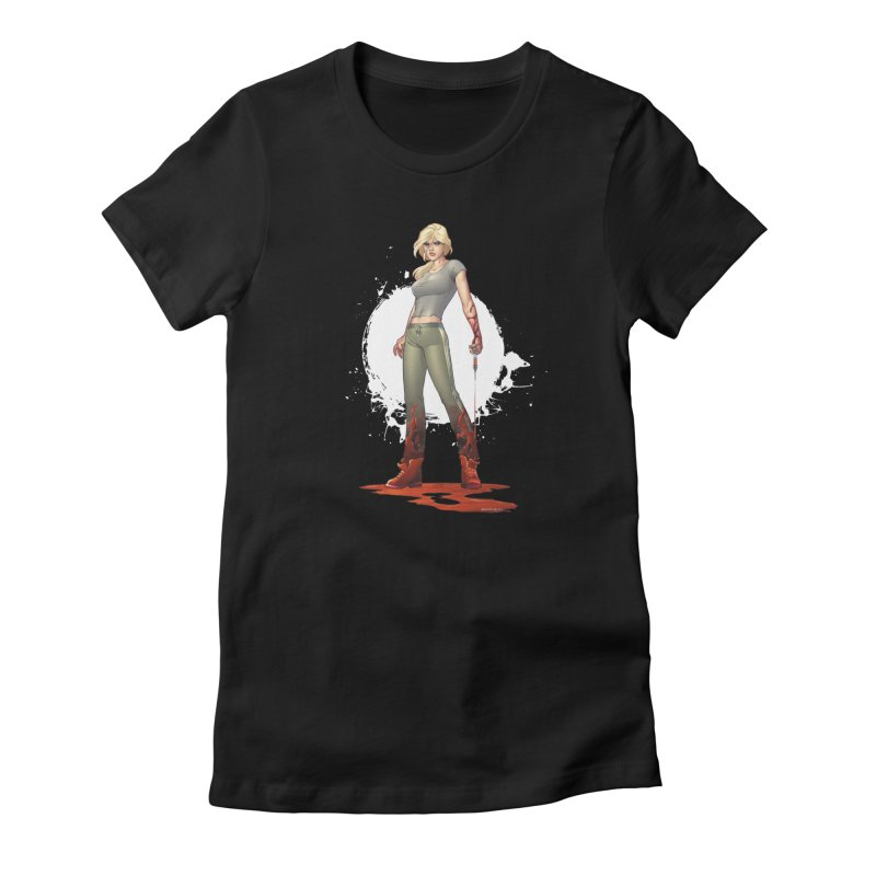 Retrovirus - Amanda Conner Women's Fitted T-Shirt by Paper Films