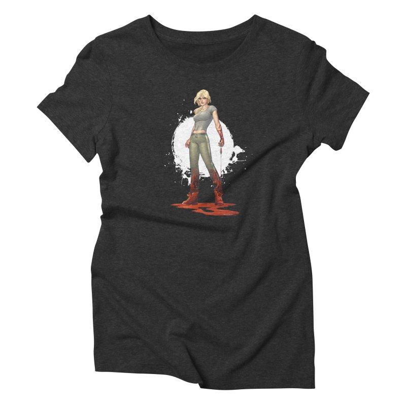 Retrovirus - Amanda Conner Women's Triblend T-Shirt by Paper Films