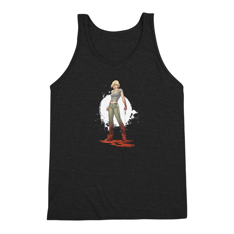 Retrovirus - Amanda Conner Men's Triblend Tank by Paper Films