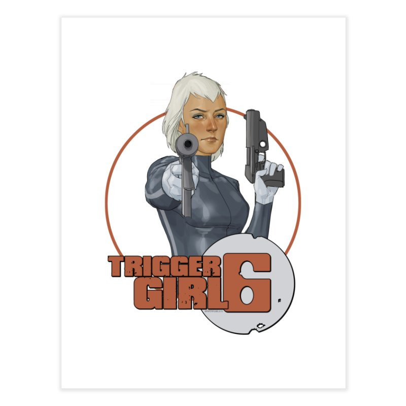 Triggergirl 6 - Phil Noto Home Fine Art Print by PaperFilms's Artist Shop