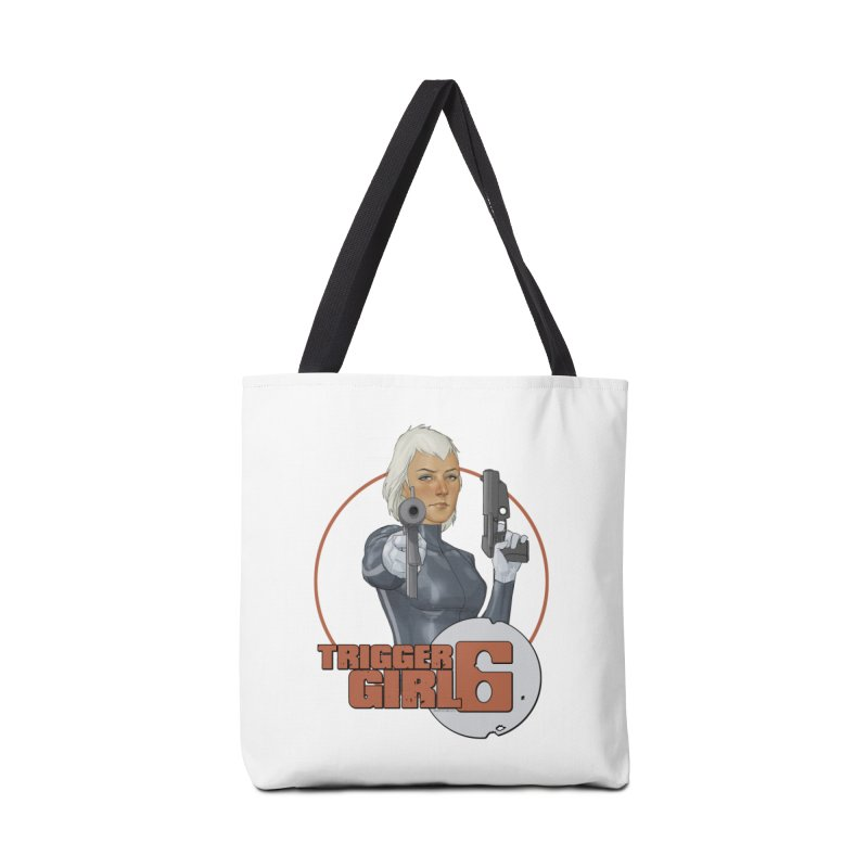 Triggergirl 6 - Phil Noto Accessories Tote Bag Bag by Paper Films