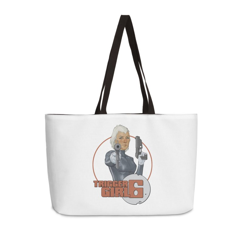 Triggergirl 6 - Phil Noto Accessories Weekender Bag Bag by Paper Films