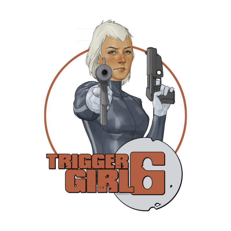 Triggergirl 6 - Phil Noto Men's Longsleeve T-Shirt by Paper Films