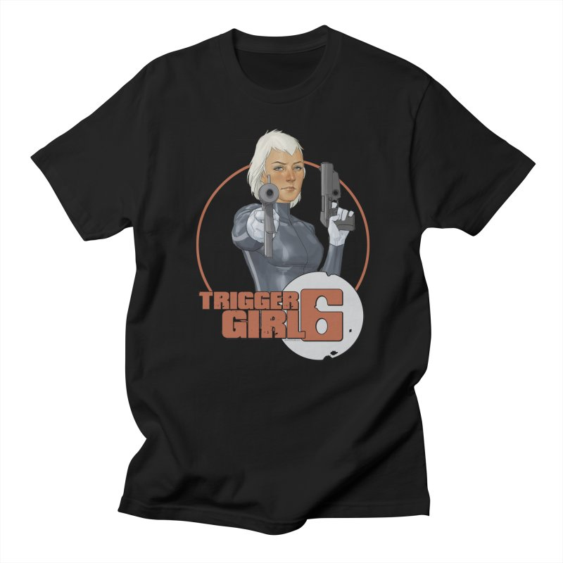 Triggergirl 6 - Phil Noto Men's T-Shirt by PaperFilms's Artist Shop