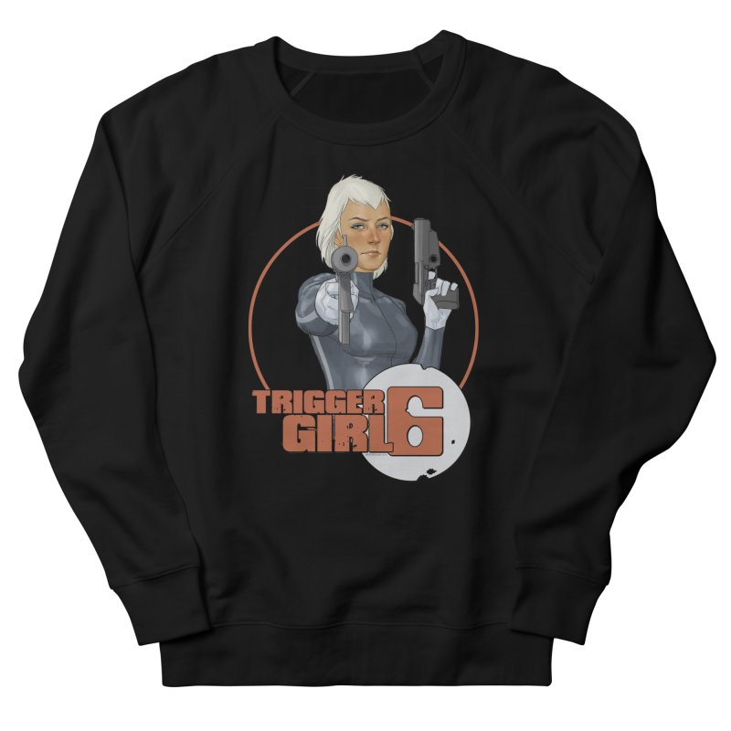 Triggergirl 6 - Phil Noto Women's Sweatshirt by Paper Films