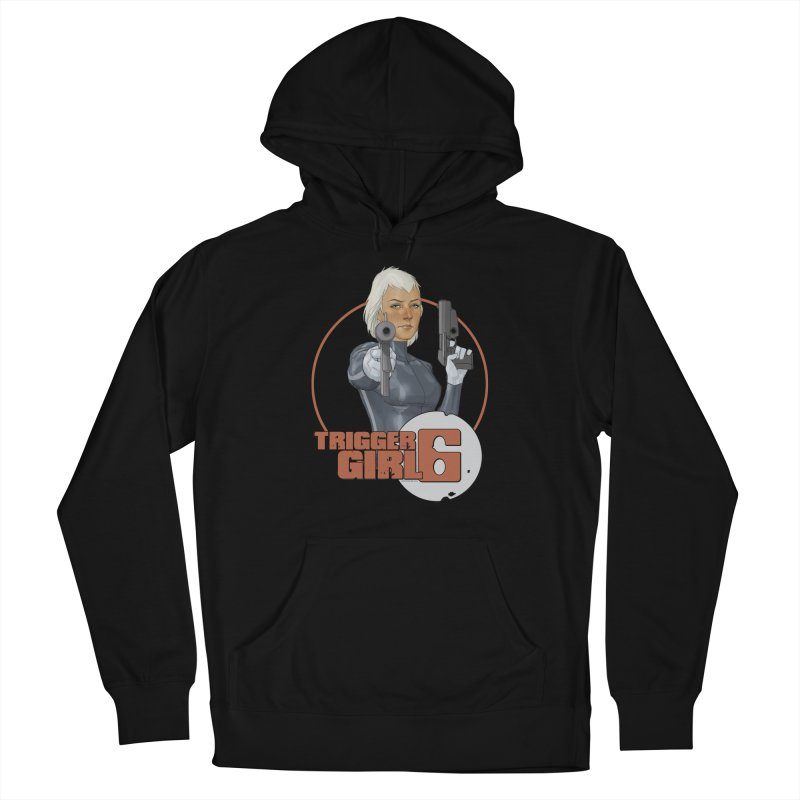 Triggergirl 6 - Phil Noto Men's Pullover Hoody by Paper Films