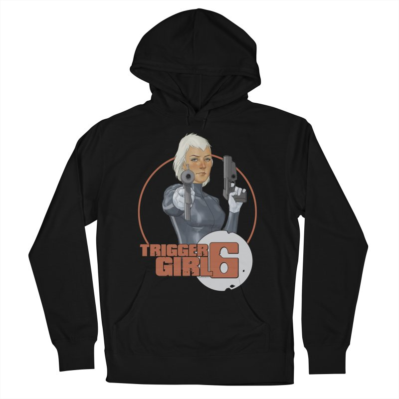 Triggergirl 6 - Phil Noto Men's French Terry Pullover Hoody by Paper Films