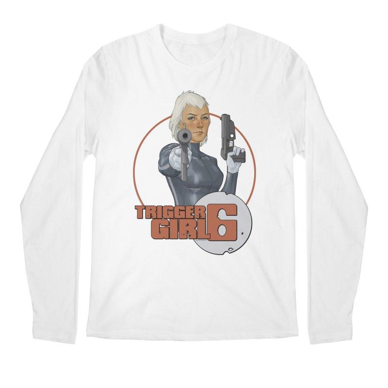 Triggergirl 6 - Phil Noto Men's Regular Longsleeve T-Shirt by Paper Films