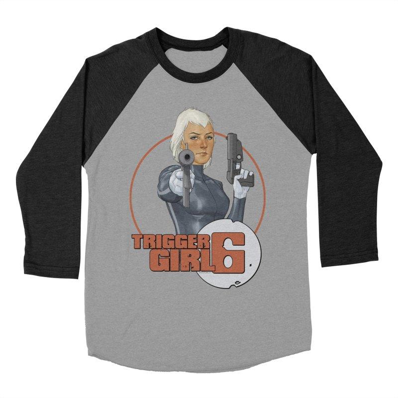 Triggergirl 6 - Phil Noto Women's Baseball Triblend Longsleeve T-Shirt by Paper Films