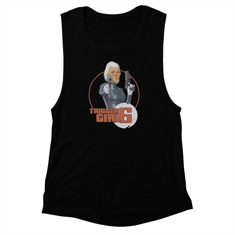 Triggergirl 6 - Phil Noto Women's Muscle Tank by Paper Films
