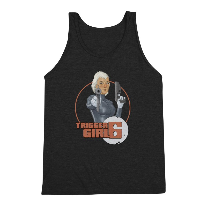 Triggergirl 6 - Phil Noto Men's Triblend Tank by Paper Films