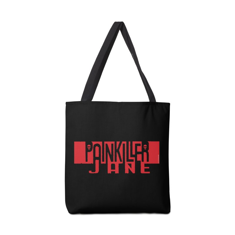 Painkiller Jane - Amanda Conner  (Red Logo) Accessories Bag by Paper Films